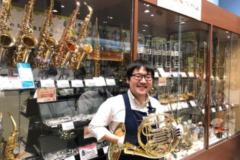 スタッフ写真管楽器、楽譜菊地 宏平