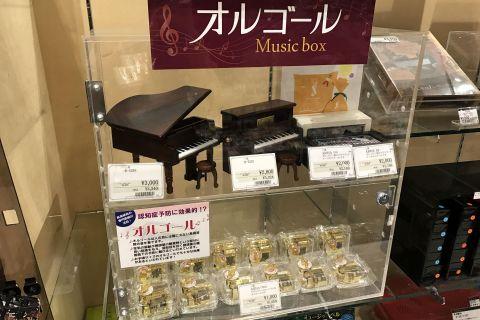 島村楽器イオンモール高崎店 オルゴール プレゼント ギフト オススメ
