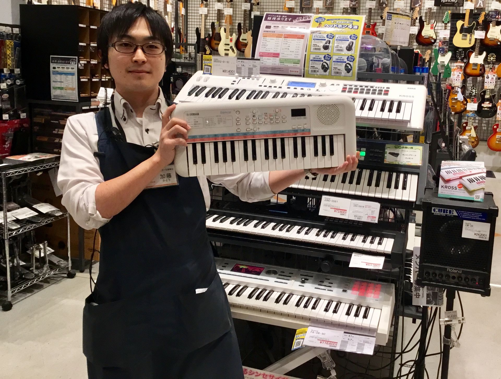 島村楽器イオンモール高崎店 キーボード シンセサイザー ピアノ 鍵盤楽器