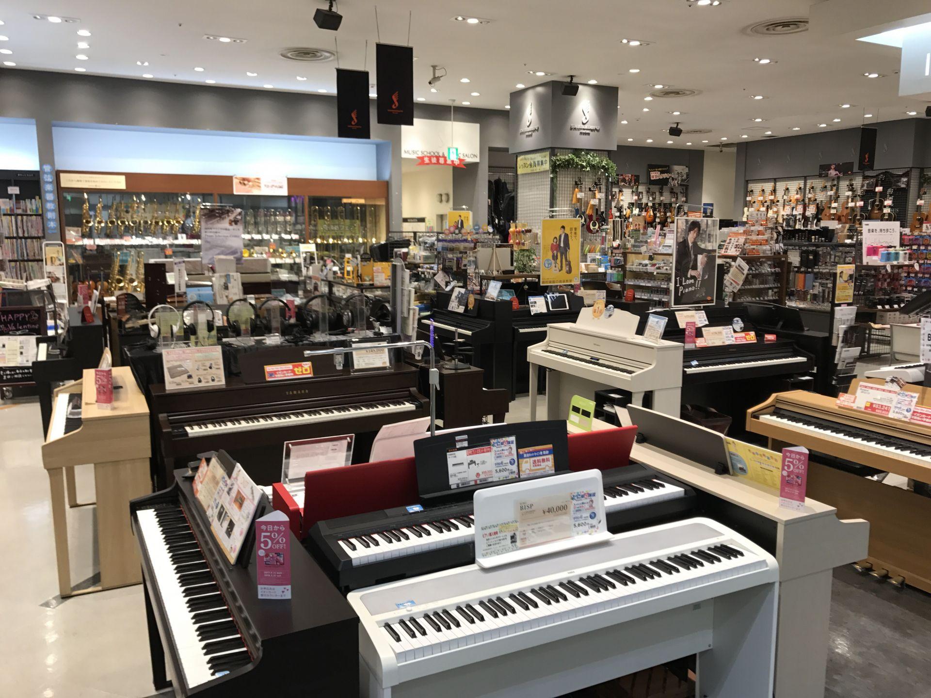 島村楽器イオンモール高崎店 ピアノ キーボード