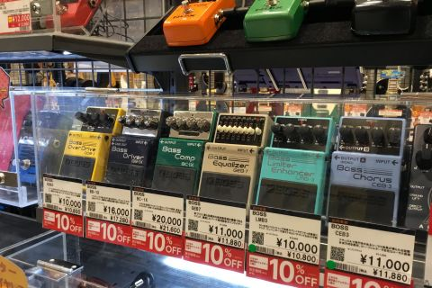 島村楽器イオンモール高崎店 エフェクター セール BOSS