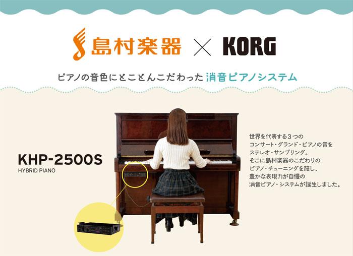 島村楽器イオンモール高崎店 消音ユニット KORG コルグ KHP-2500S