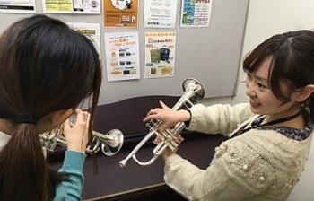 島村楽器イオンモール高崎店 トランペット レッスン 山﨑先生