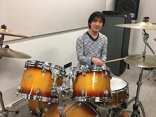 島村楽器イオンモール高崎店 ドラム教室 由上先生