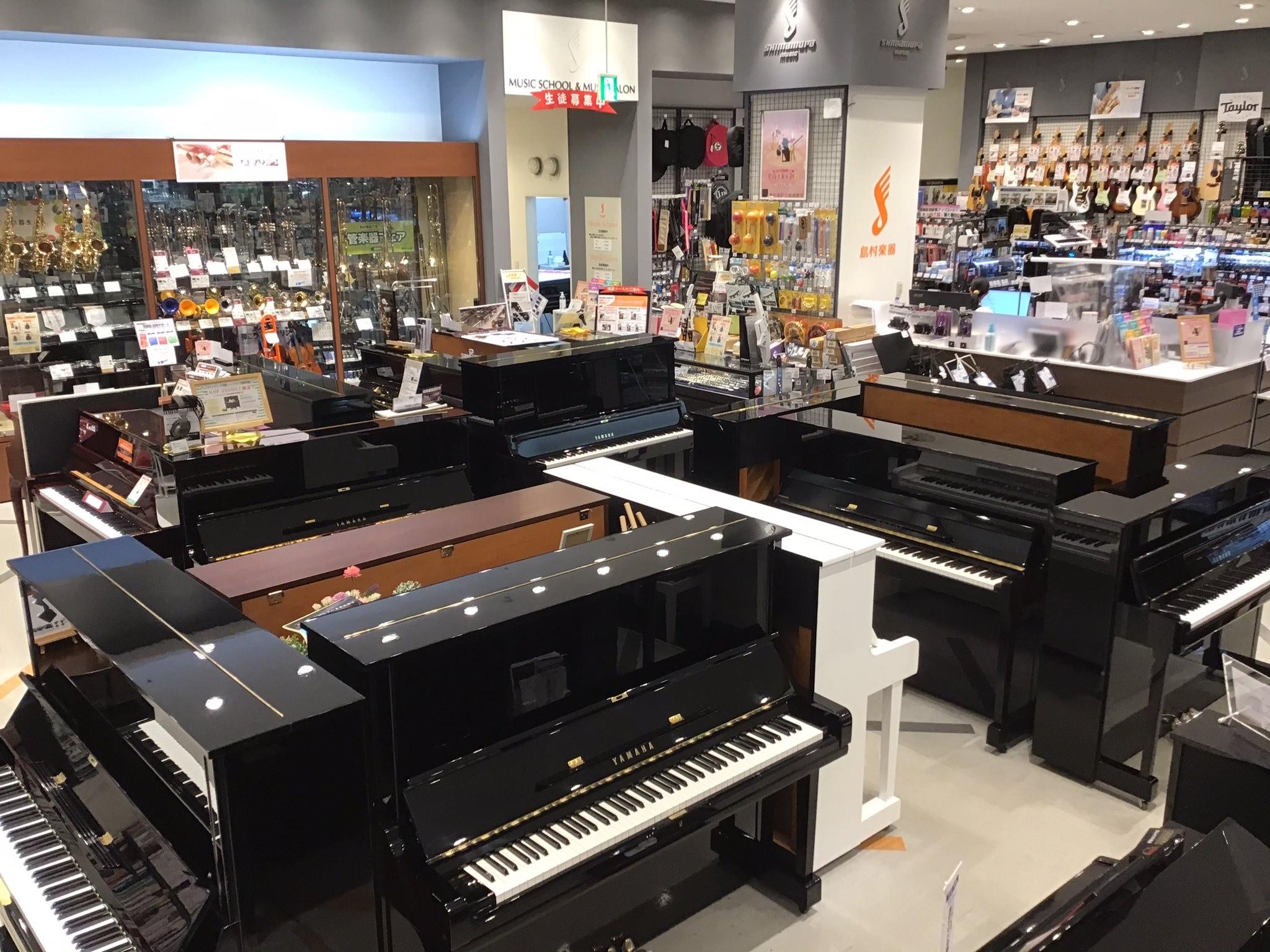 島村楽器イオンモール高崎店 アップライトピアノ お買い得 中古 ヤマハ カワイ 生ピアノ アコースティックピアノ