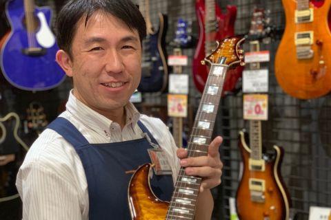 スタッフ写真副店長 ピアノ エレキギター エレキベース田部井