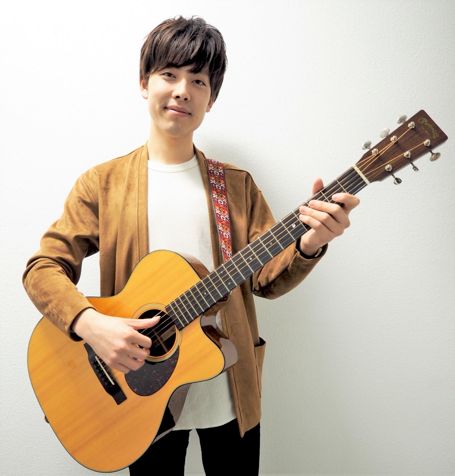 アコースティックギター教室講師紹介 秋枝雅史