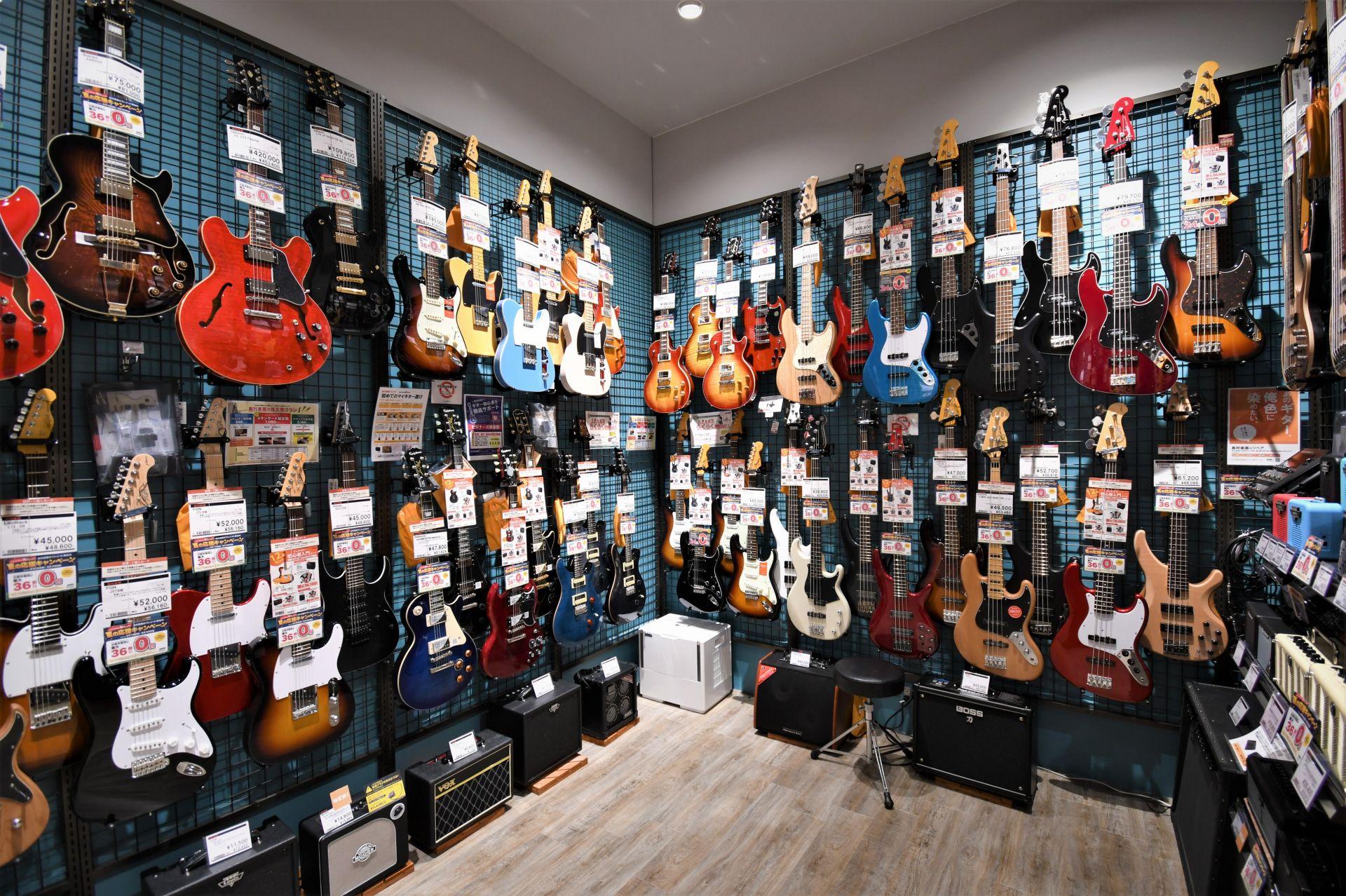 アウトレット ギター・ベースコーナー