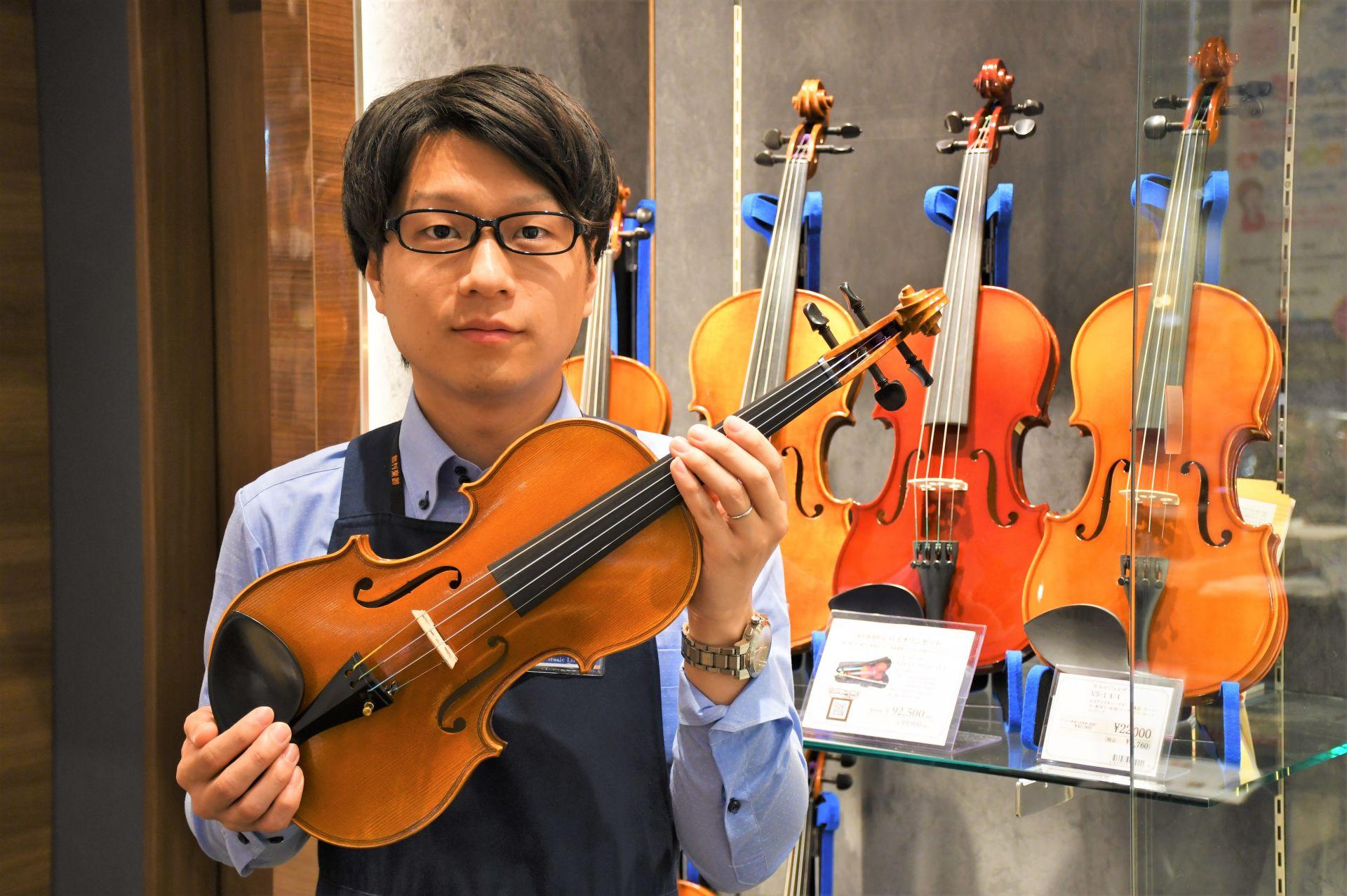 島村楽器 アウトレット広島店 弦楽器担当 バイオリン ヴァイオリン 大下