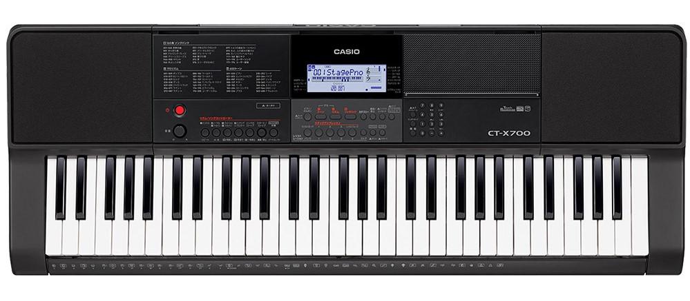 CT-Xシリーズでは、パワフルな低音からクリアな高音までを豊かに響かせるAiX音源を採用。高性能LSIの高い演算能力で、ピアノの打鍵による心地よい音色変化やドラム演奏の空気感、ストリングスのリッチな広がりなど、アコースティック楽器が持つ音の魅力を自然に表現します。また、エレクトリックサウンドにおいても、ダイナミックな音色変化による優れた表現力を備えています。 さらに、デジタル信号の高速処理を行うプロセッサーをメロディ音、伴奏ドラム・ベース・オルガンなど、個々の音別に使用。キーボードならではの自動伴奏アンサンブルでも、一つひとつの楽器音が際立つ高い表現力で演奏できます。