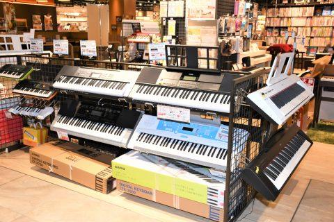 島村楽器アウトレット広島店 ポータブルキーボード 安いピアノ 広島 アウトレット
