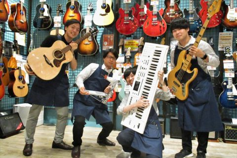 島村楽器アウトレット広島店 スタッフ写真