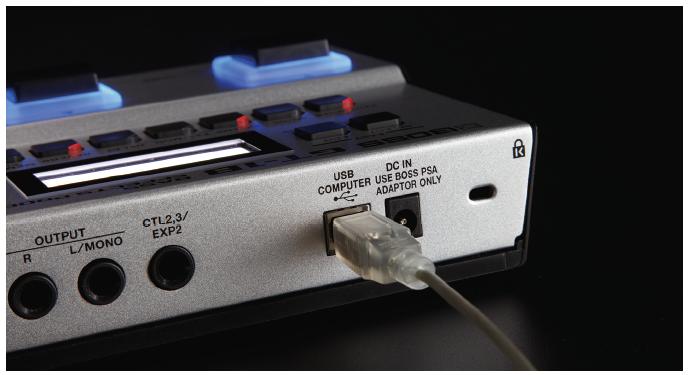 USBでPCに接続すれば、いつでも最先端のプロサウンドや憧れの曲のサウンドが手に入ります。