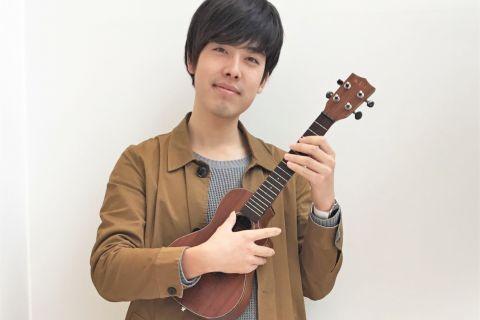 秋枝 雅史 ウクレレ教室講師