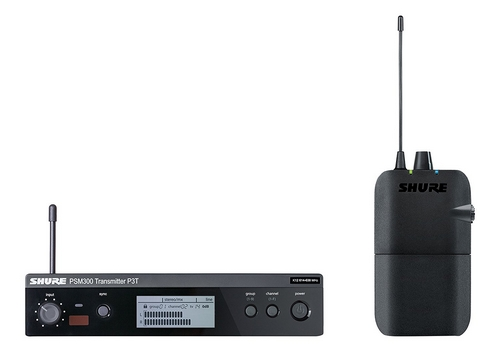 ワイヤレスイヤフォンモニターシステム SHURE P3TR112GR