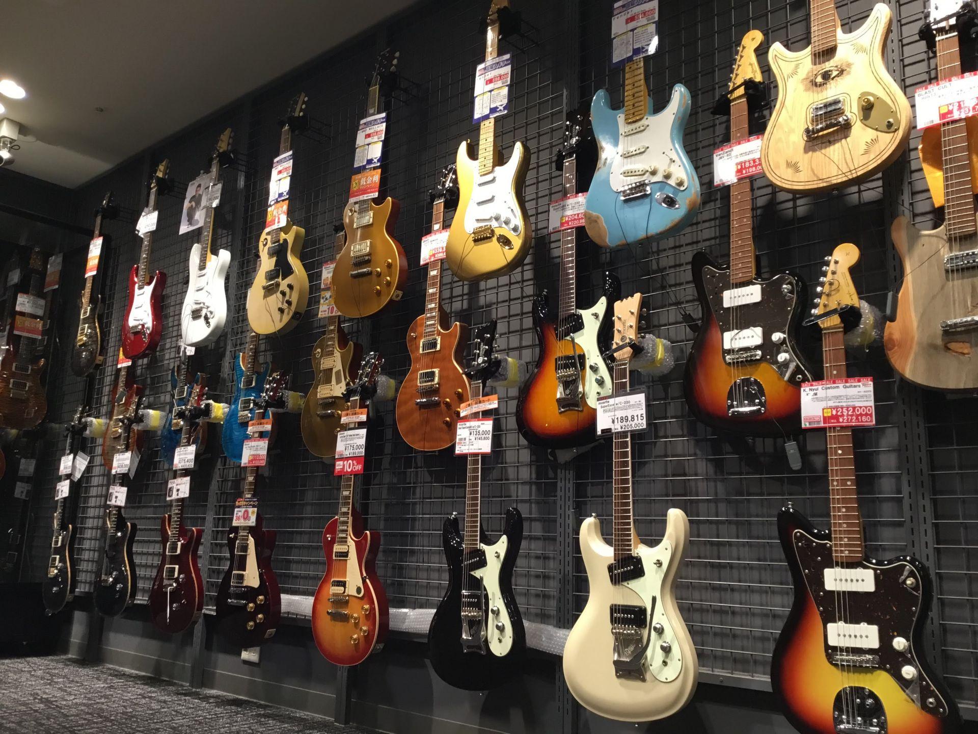 エレキギター定番人気ブランドスペース