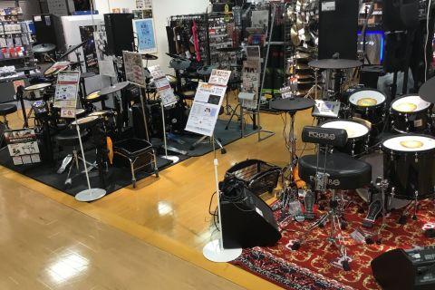 梅田ロフト店 電子ドラム ドラムコーナー