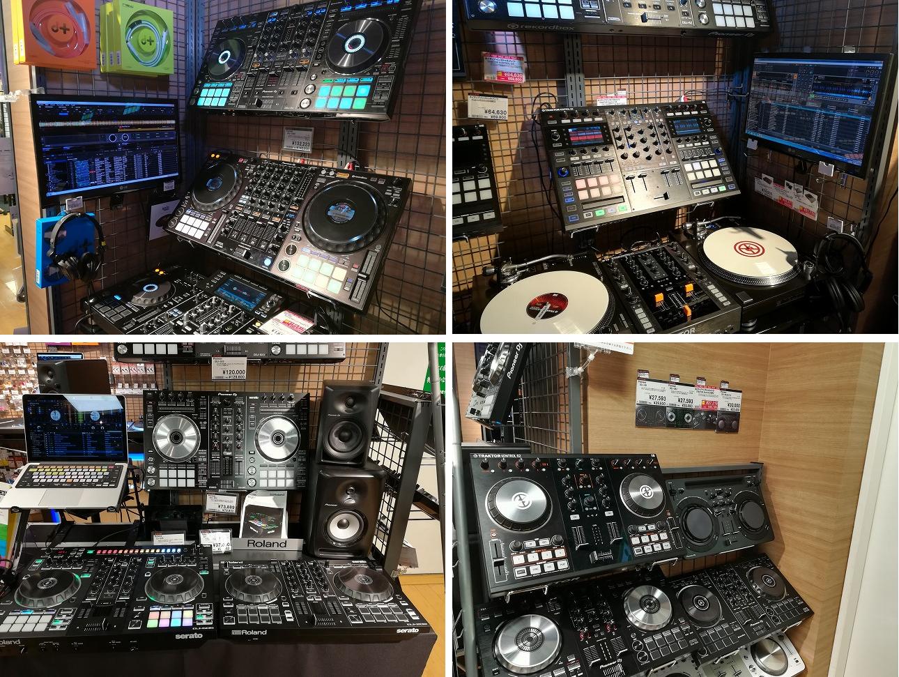 DJコーナー