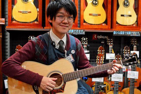 スタッフ写真副店長/アコースティックギター/クラシックギター下森