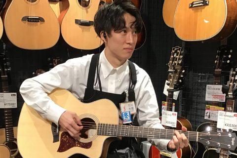 スタッフ写真アコースティックギター/ウクレレ片岡