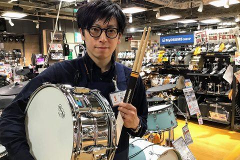 スタッフ写真ドラム藤本