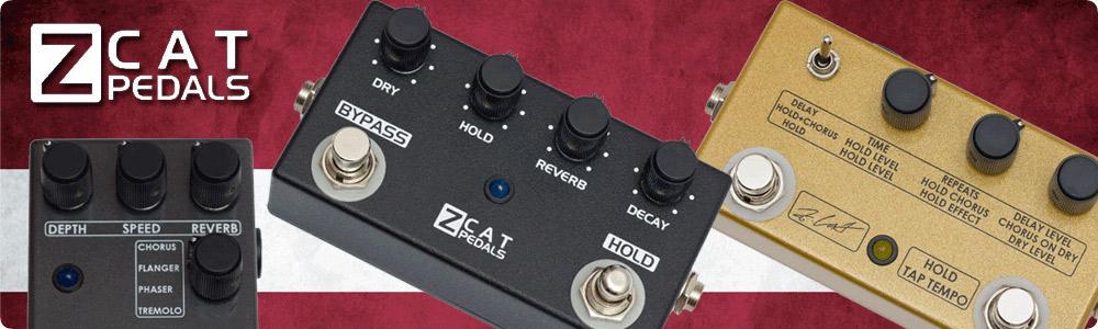 エフェクター取り扱いメーカー ZCAT Pedals