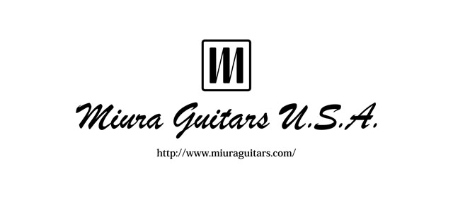 エフェクター取り扱いメーカー Miura Guitars U.S.A.