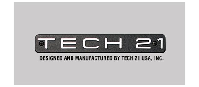 エフェクター取り扱いメーカー TECH 21