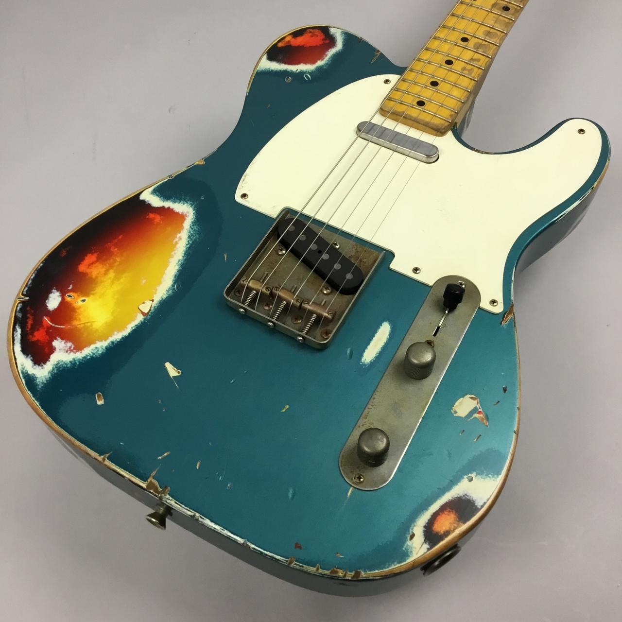 Nash Guitars T-57 Aged Turquoise Over 3ToneSB