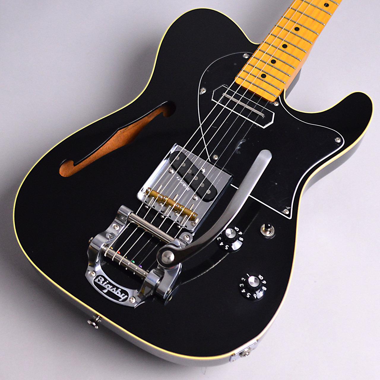 K.Nyui Custom Guitars KNTE-BLK / Semi Hollow