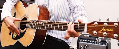 アコースティックギタースクール イメージ
