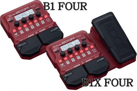 ZOOM B1 FOUR / B1X FOUR 製品記事