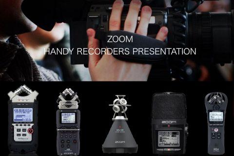ZOOM ハンディレコーダー製品