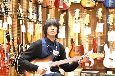 スタッフ写真アンプ・エフェクター・ギターアクセサリー金城