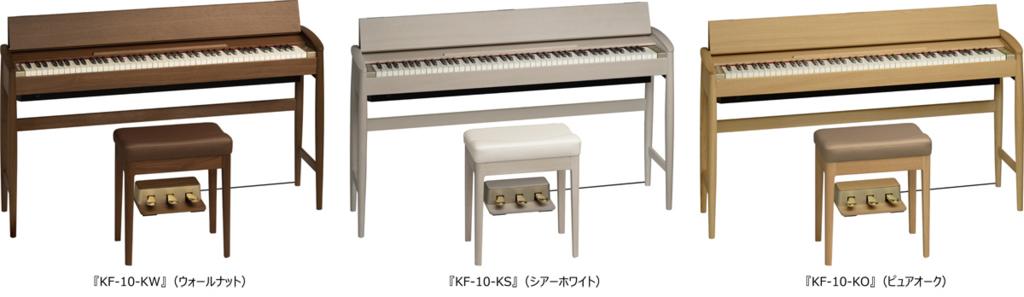 ローランド電子ピアノKIYOLA KF-10画像