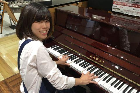 スタッフ写真副店長・ピアノ米田