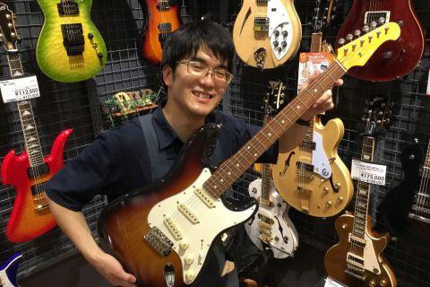スタッフ写真ギター、ギターアクセサリー西窪