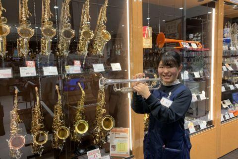 スタッフ写真金管楽器、アクセサリー福田