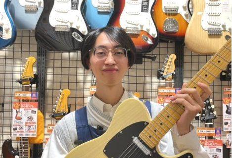 スタッフ写真エレキギター・エフェクター・アンプ・デジタル楽器・ギターアクセサリー田中