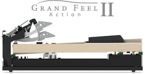 シーソー式木製鍵盤 グランド・フィール・アクションⅡ