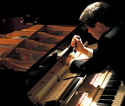 お好みのピアノ調整ができる「コンサートチューナー機能」