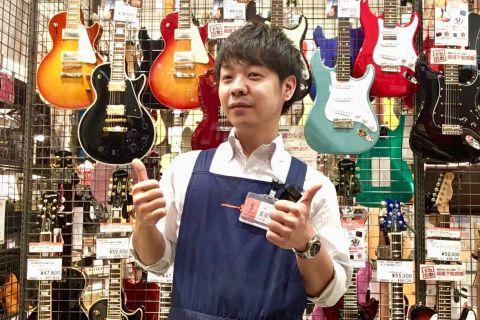 スタッフ写真ギター・ベース全般、ウクレレ、デジタル全般高橋