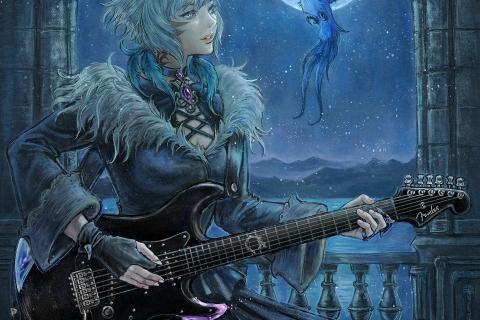 FF14コラボギター