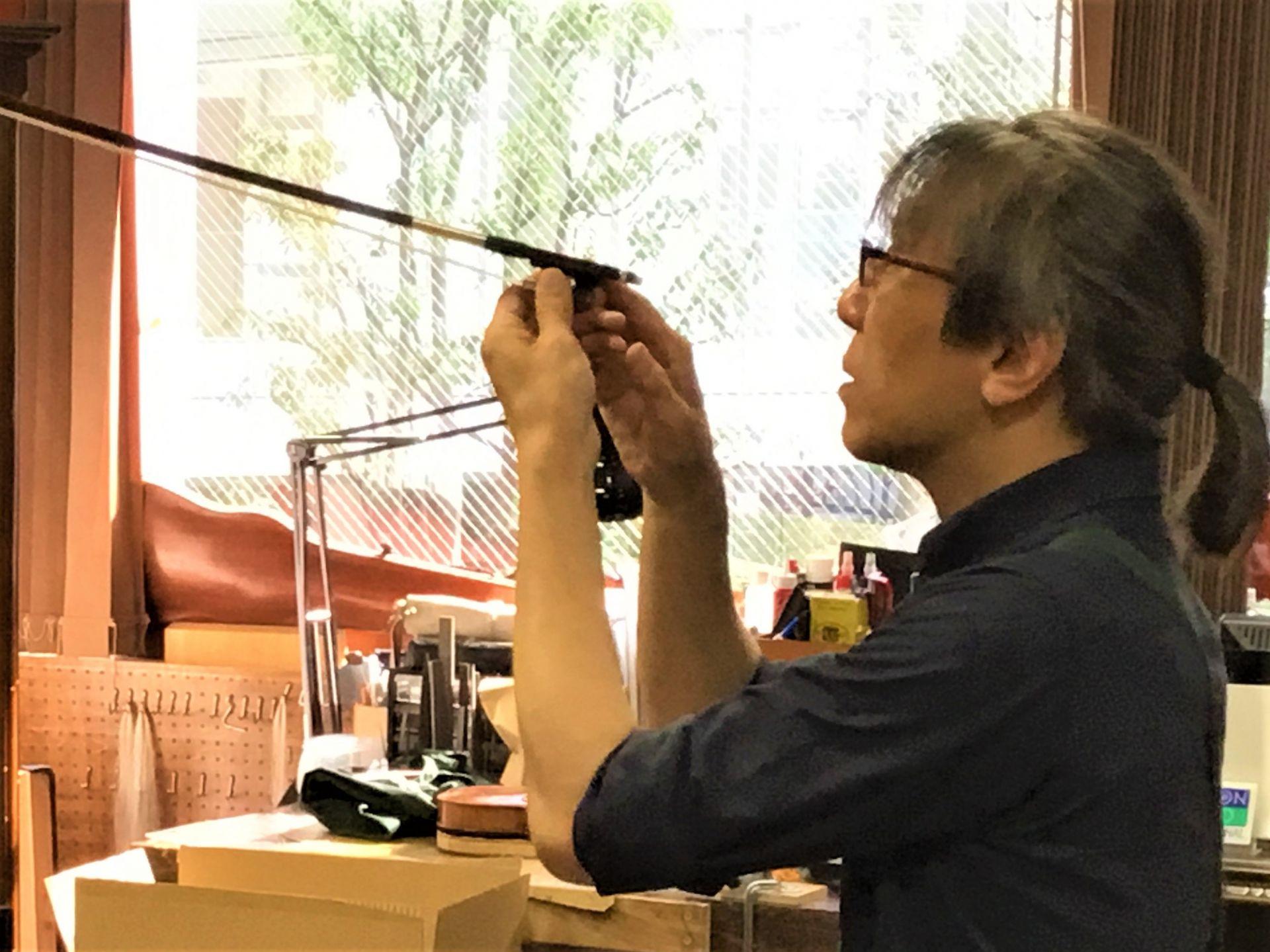 マイスター基準で選定 アレキサンダー・ランゴルフ弓