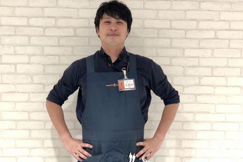 スタッフ写真エレキギター・エレキベース・DJ担当久保田