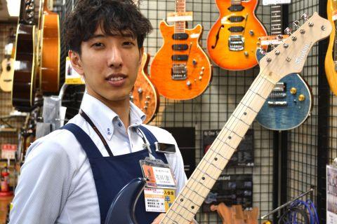 スタッフ写真アコースティックギター/エレキギター/エレキベース石川 諒