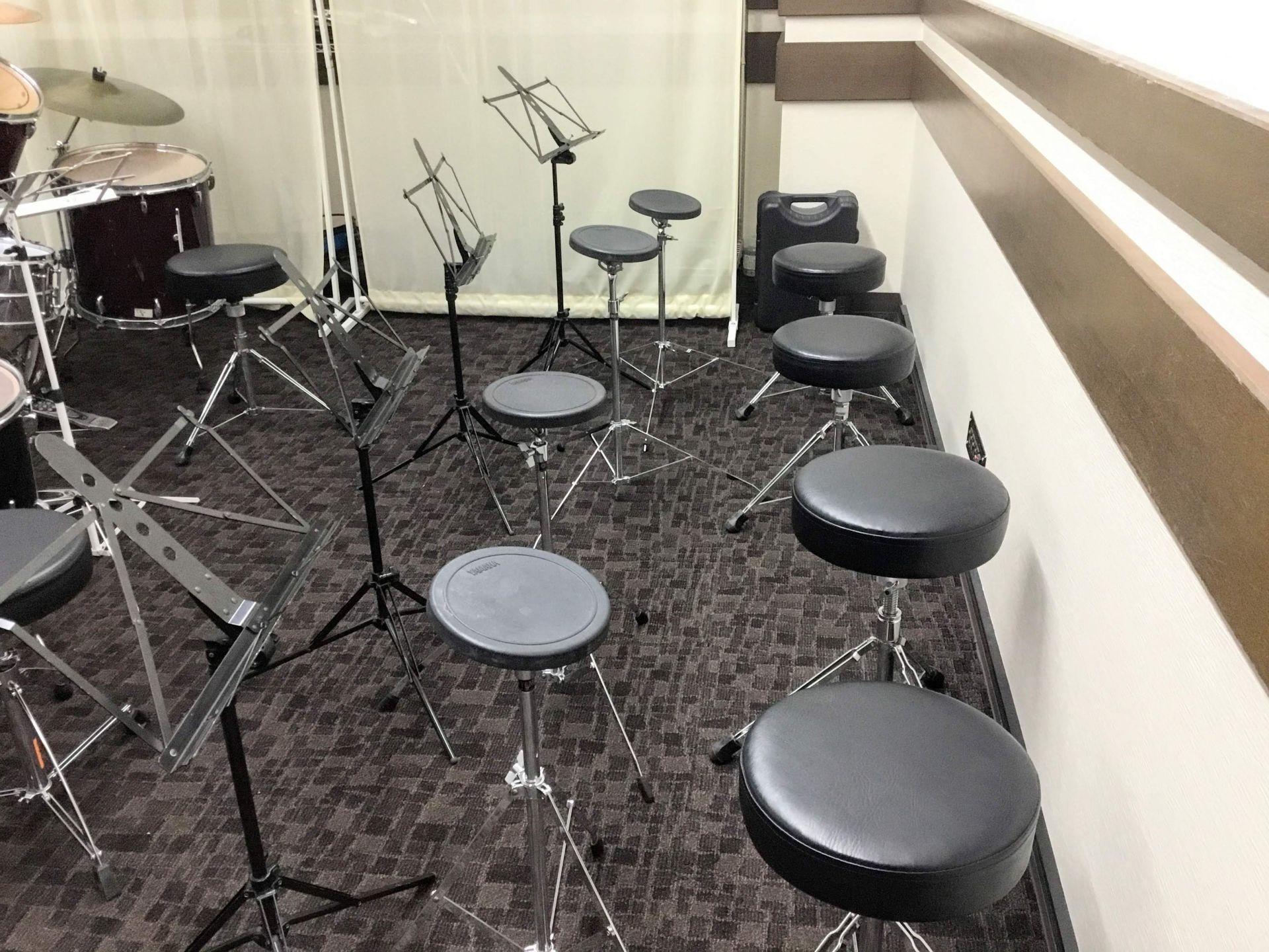 ドラムコース練習用のお席