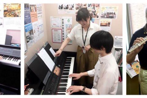 ピアノ・ピアノ・フルートレッスン写真